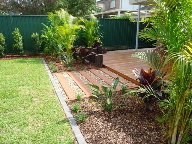 landscaping, Carlton, NSW