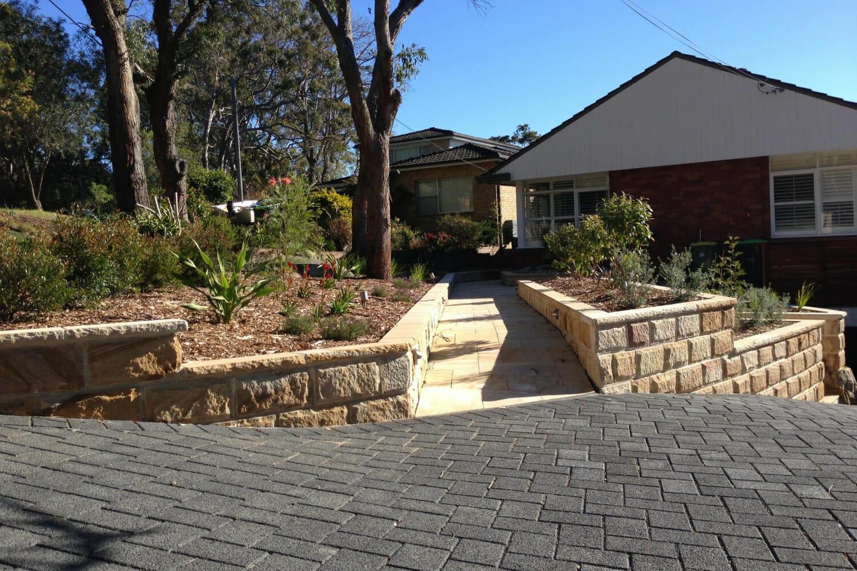 Sylvania garden after image